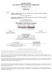The Simply Good Foods Company