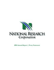 National Research Corp.
